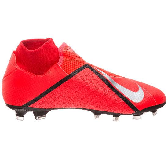 Phantom Vision Pro DF FG Fußballschuh Herren, neonrot / silber, zoom bei OUTFITTER Online