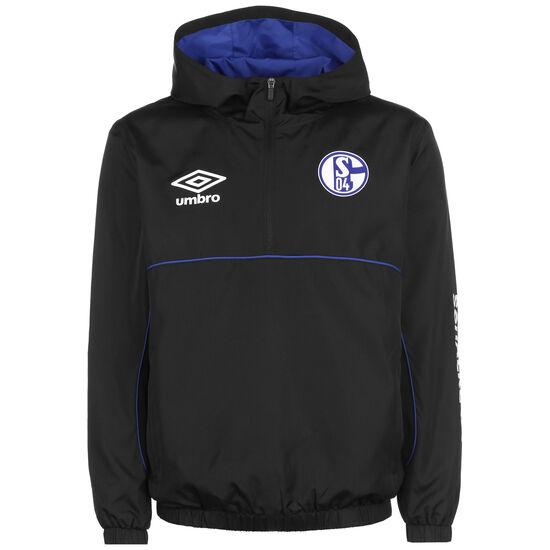 FC Schalke 04 Icon Windbreaker Herren, schwarz, zoom bei OUTFITTER Online
