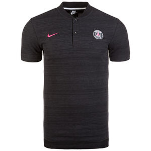 Paris Saint-Germain Grand Slam Poloshirt Herren, schwarz, zoom bei OUTFITTER Online