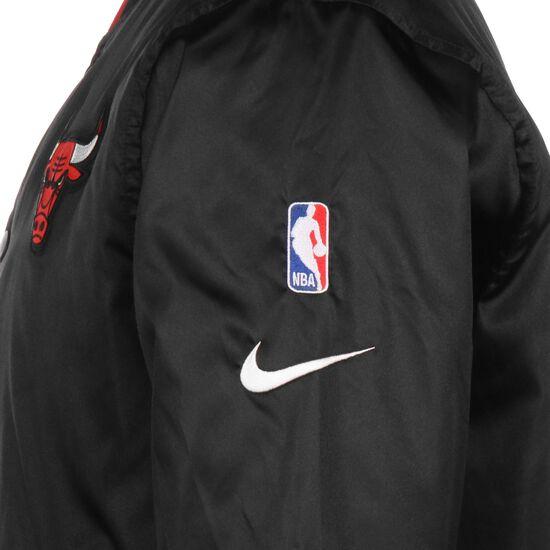 NBA Chicago Bulls Reversible Courtside Trainingsjacke Herren, schwarz / rot, zoom bei OUTFITTER Online