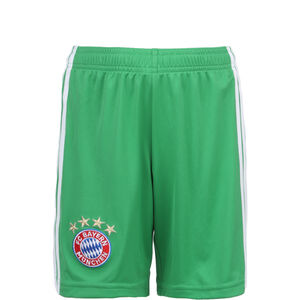 FC Bayern München Torwartshort Home 2019/2020 Kinder, grün / weiß, zoom bei OUTFITTER Online