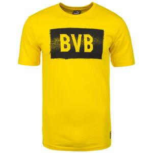 Borussia Dortmund Stencil T-Shirt Herren, gelb, zoom bei OUTFITTER Online