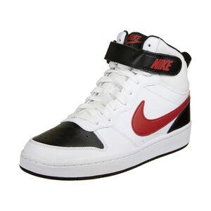 Court Borough Mid Sneaker Kinder, weiß / schwarz, zoom bei OUTFITTER Online
