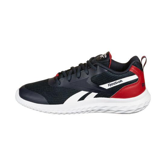 Rush Runner Laufschuh Kinder, dunkelblau / rot, zoom bei OUTFITTER Online