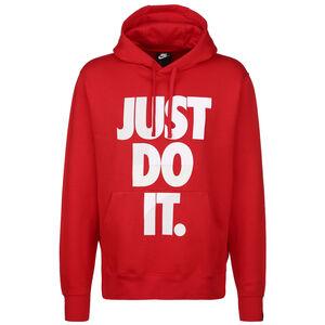 Just Do It Kapuzenpullover Herren, rot / weiß, zoom bei OUTFITTER Online
