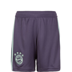 FC Bayern München Short Away 2018/2019 Kinder, Lila, zoom bei OUTFITTER Online