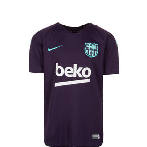 FC Barcelona Breathe Squad Trainingsshirt Kinder, Lila, zoom bei OUTFITTER Online