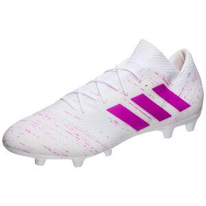 Nemeziz  18.2 FG Fußballschuh Herren, weiß / pink, zoom bei OUTFITTER Online