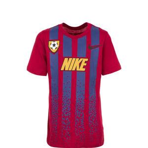 Soccer Jersey T-Shirt Kinder, rot / blau, zoom bei OUTFITTER Online
