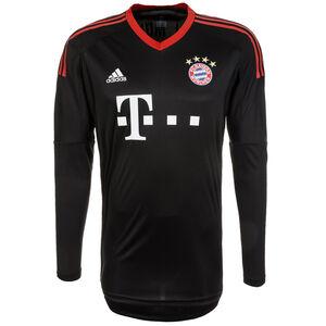 FC Bayern München Torwarttrikot Home 2017/2018 Herren, Schwarz, zoom bei OUTFITTER Online