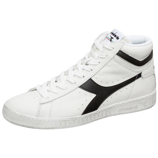 Game L High Waxed Sneaker Herren, weiß / schwarz, zoom bei OUTFITTER Online