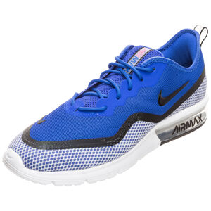 Air Max Sequent 4.5 SE Sneaker Herren, blau / schwarz, zoom bei OUTFITTER Online