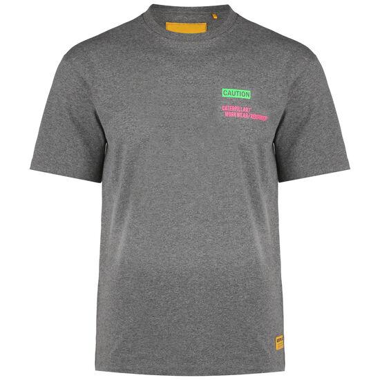 Caterpillar Caution T-Shirt Herren, grau, zoom bei OUTFITTER Online