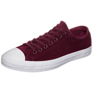 Chuck Taylor All Star Plush Suede OX Sneaker Herren, Rot, zoom bei OUTFITTER Online