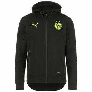 Borussia Dortmund BVB Casuals Kapuzenjacke Herren, schwarz / gelb, zoom bei OUTFITTER Online