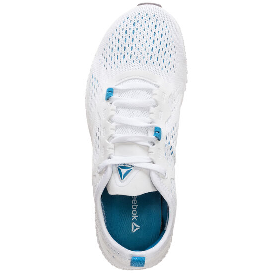 Flexagon Trainingsschuh Damen, weiß / blau, zoom bei OUTFITTER Online