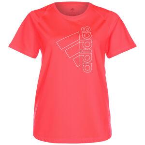 Badge Of Sport Tech Trainingsshirt Damen, pink, zoom bei OUTFITTER Online