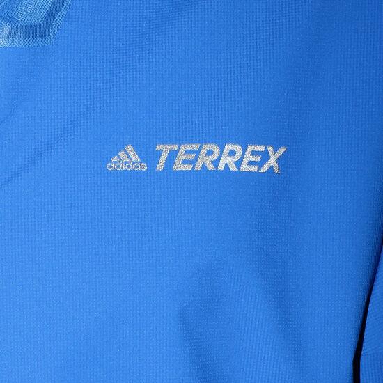 Terrex 2.5-Layer Zupahike Regenjacke Herren, blau, zoom bei OUTFITTER Online