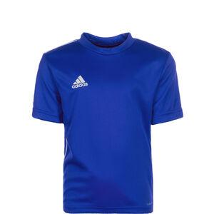 Core 18 Trainingsshirt Kinder, blau / weiß, zoom bei OUTFITTER Online
