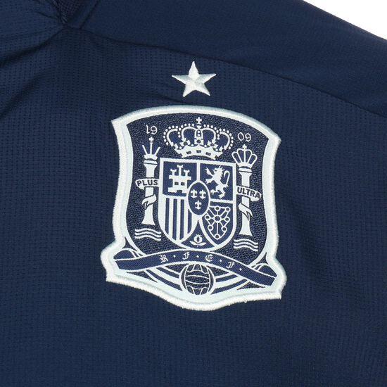 Spanien Präsentationsjacke EM 2021 Herren, dunkelblau / weiß, zoom bei OUTFITTER Online