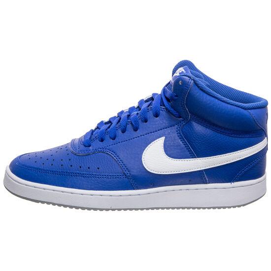 Court Vision Mid Sneaker Herren, blau / weiß, zoom bei OUTFITTER Online