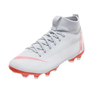 Mercurial Superfly VI Academy MG Fußballschuh Kinder, Grau, zoom bei OUTFITTER Online