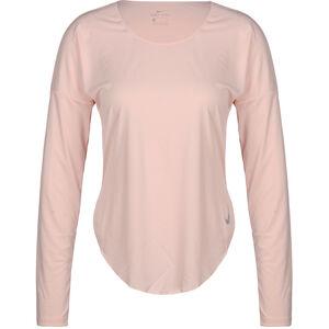 Miler Laufshirt Damen, pink / silber, zoom bei OUTFITTER Online