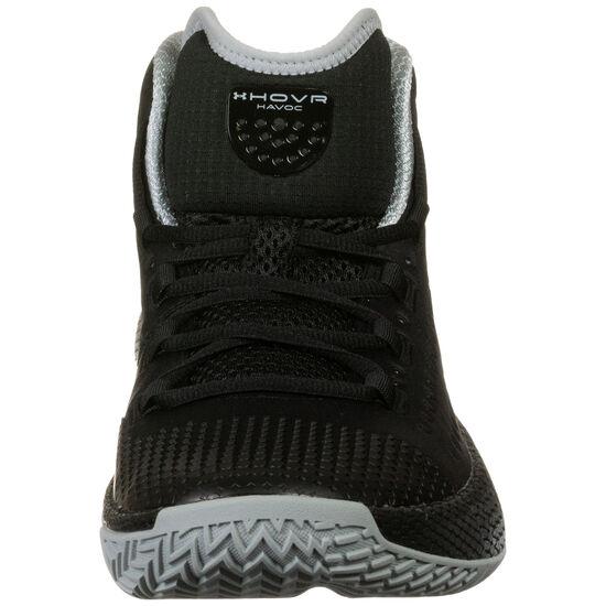 Hovr Havoc 2 Basketballschuhe Herren, schwarz / grau, zoom bei OUTFITTER Online