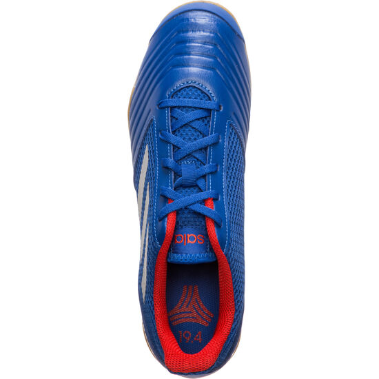 Predator 19.4 Sala Indoor Fußballschuh Herren, blau / silber, zoom bei OUTFITTER Online