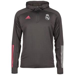 Real Madrid Kapuzenpullover Herren, dunkelgrau, zoom bei OUTFITTER Online