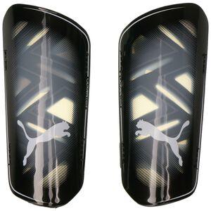 ULTRA Light Strap Schienbeinschoner, schwarz / weiß, zoom bei OUTFITTER Online