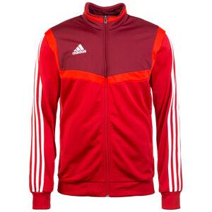 Tiro 19 Polyester Trainingsjacke Herren, rot / dunkelrot, zoom bei OUTFITTER Online