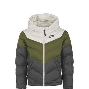 Synthetic Fill Winterjacke Kinder, grün / beige, zoom bei OUTFITTER Online
