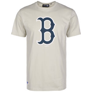 MLB Boston Red Sox Seasonal Team Logo T-Shirt Herren, beige / dunkelblau, zoom bei OUTFITTER Online