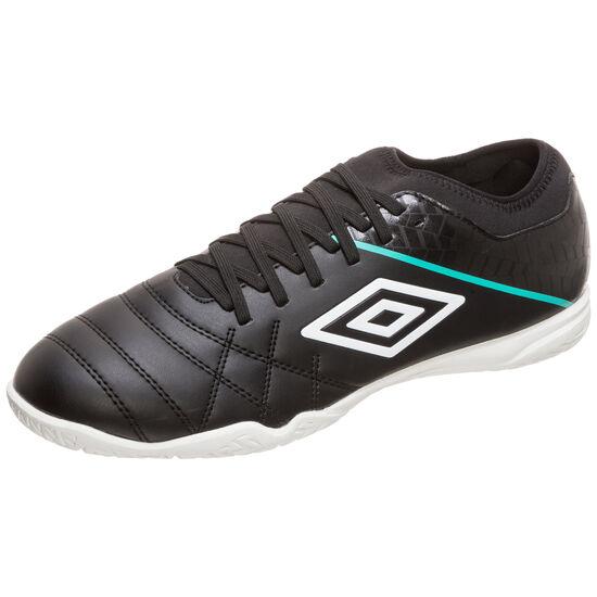 Medusae III Club Indoor Fußballschuh Herren, schwarz / türkis, zoom bei OUTFITTER Online