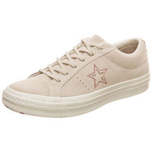 Cons One Star Love Metallic OX Sneaker Damen, beige, zoom bei OUTFITTER Online