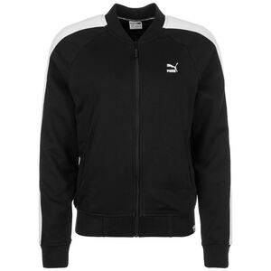 Classics Logo T7 Track Jacke Damen, schwarz / weiß, zoom bei OUTFITTER Online