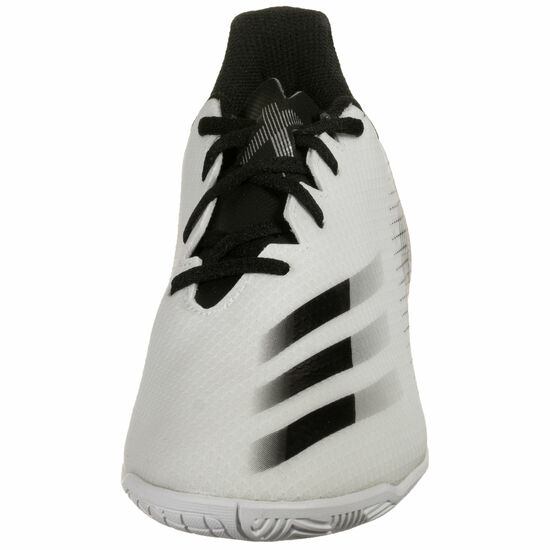 X Ghosted.4 IN Fußballschuh Herren, weiß / silber, zoom bei OUTFITTER Online