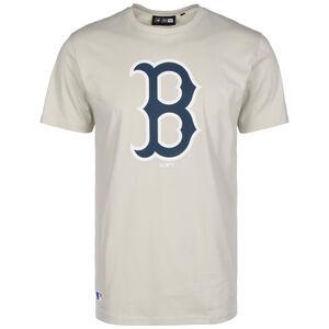 MLB Boston Red Sox Seasonal Team Logo T-Shirt Herren, beige / dunkelblau, zoom bei OUTFITTER Online