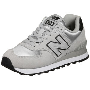 WL574 Sneaker Damen, hellgrau / silber, zoom bei OUTFITTER Online