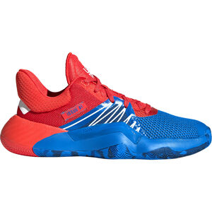 D.O.N. Issue 1 Basketballschuhe Kinder, blau / rot, zoom bei OUTFITTER Online