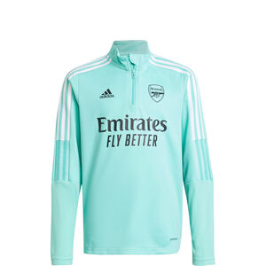 FC Arsenal Trainingssweat Kinder, mint / weiß, zoom bei OUTFITTER Online