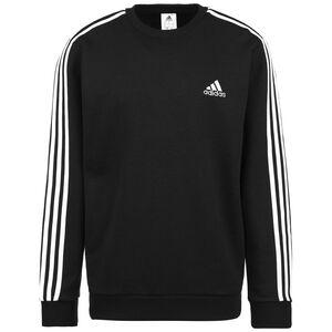Essentials 3-Streifen Sweatshirt Herren, schwarz / weiß, zoom bei OUTFITTER Online