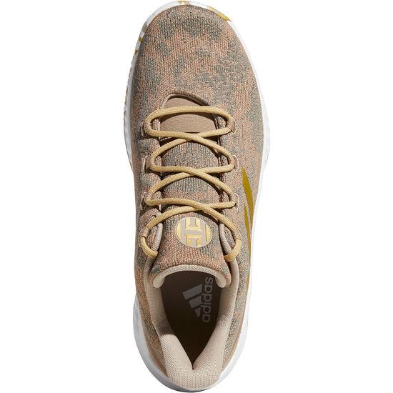 Harden B/E X Basketballschuh Herren, khaki / gold, zoom bei OUTFITTER Online