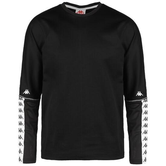 Gajus Sweatshirt Herren, schwarz / weiß, zoom bei OUTFITTER Online