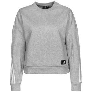 Wrapped 3-Streifen Sweatshirt Damen, grau, zoom bei OUTFITTER Online