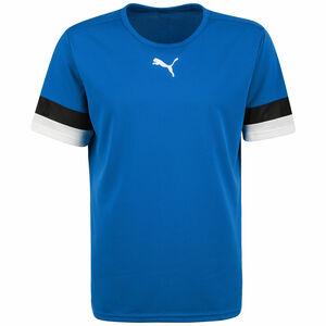 TeamRISE Fußballtrikot Herren, blau / schwarz, zoom bei OUTFITTER Online