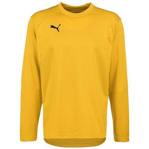 LIGA Trainingssweat Herren, gelb / schwarz, zoom bei OUTFITTER Online