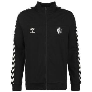SC Freiburg hmlMOVE Classic Trainingsjacke Herren, schwarz / weiß, zoom bei OUTFITTER Online