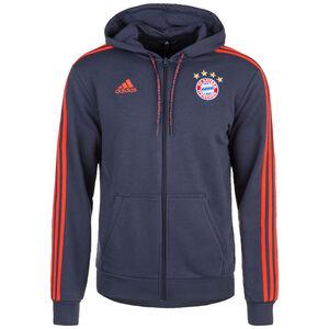 FC Bayern München Kapuzenjacke Herren, dunkelblau, zoom bei OUTFITTER Online